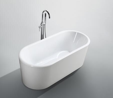 Bellaterra Home Padua BA6830 Bath Tub White, Main Image