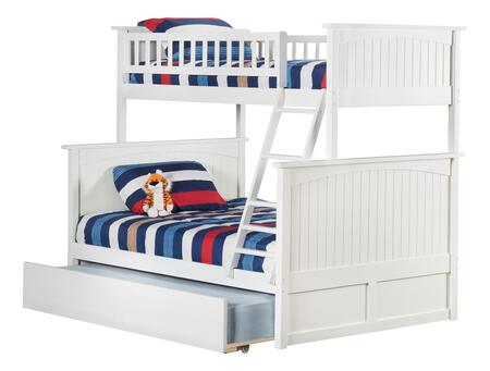 Atlantic Furniture Nantucket AB59252 Bed White, AB59252 SILO TR2 30