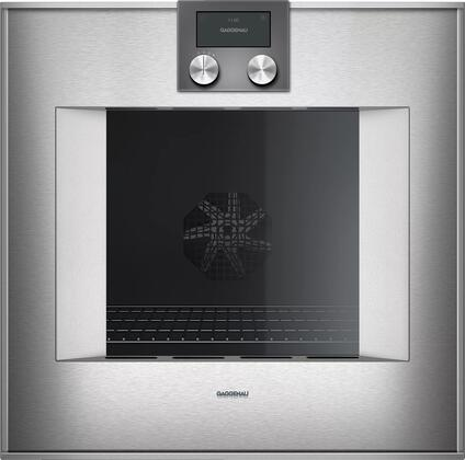 Gaggenau 400 Series BO450612 Single Wall Oven Stainless Steel, Main Image
