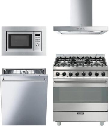 Smeg 890347 Kitchen Appliance Package & Bundle Stainless Steel, main image