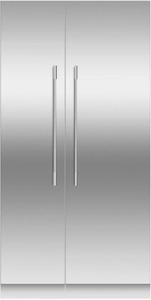 Fisher Paykel  966256 Column Refrigerator & Freezer Set Stainless Steel, main image