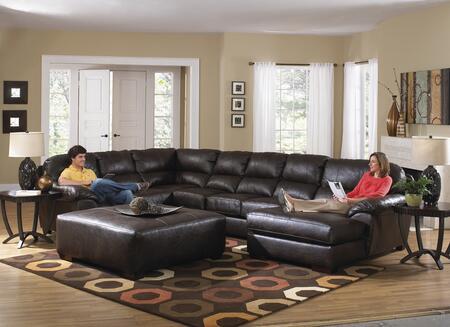 Jackson Furniture Lawson 4243623076122329302329 Sectional Sofa Brown, Main Image