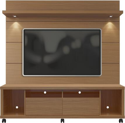 Manhattan Comfort Cabrini 1.8 21545482254 Entertainment Center Brown, 2 1545482254 A