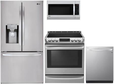 LG  1118925 Kitchen Appliance Package Stainless Steel, main image