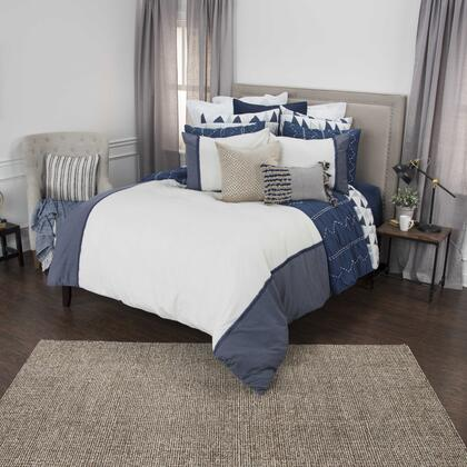 """DFSBT4535INWH82SQ 98"""" x 98"""" Duvet in Natural and"""