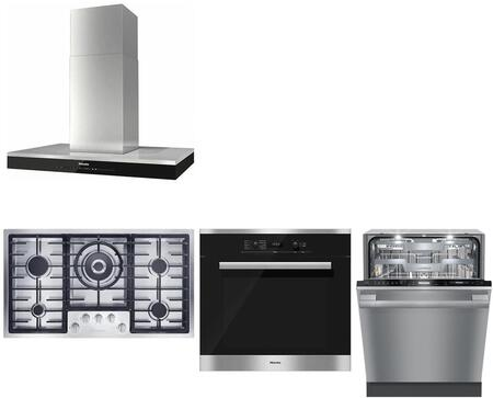 Miele  737490 Kitchen Appliance Package Stainless Steel, main image