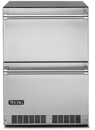 Viking 5 Series VDUI5240DSS Drawer Refrigerator Stainless Steel, Main Image