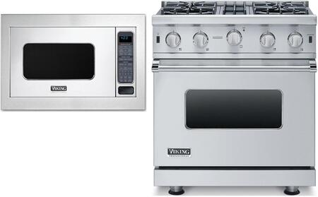 Viking 873945 Kitchen Appliance Package & Bundle Stainless Steel, main image