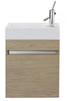 Cutler Kitchen and Bath Sangallo FVPICCCAST18 Sink Vanity Brown, Main Image