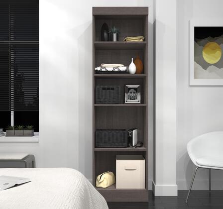 Bestar Furniture 2616247 Cabinet, bestar pur murphy bed bark grey 26162 47 room