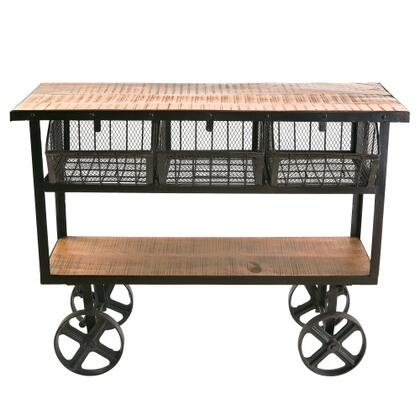 Yosemite Furniture YFURVAIF325 Serving Carts, Main Image