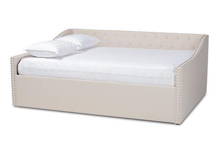Baxton Studio 134.5 lbs. CF9046BBEIGEDAYBEDQ Bed Beige, 9685 9682 6