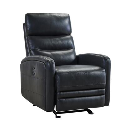Tristan Collection LCTR1PW Power Recliner Chair with 2.2 High Density Foam Cushion  USB Charging Port  Contemporary Style  Solid Hardwood Frame and