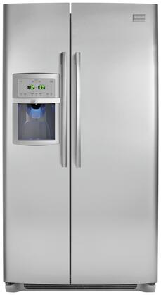 Frigidaire Professional FPHS2386LF Side-By-Side Refrigerator Stainless Steel, 1