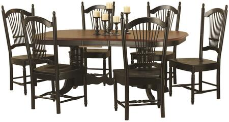 Sunset Trading Sunset Oak Selections DLUTCP4284C07AB7PC Dining Room Set Multi Colored, Main Image