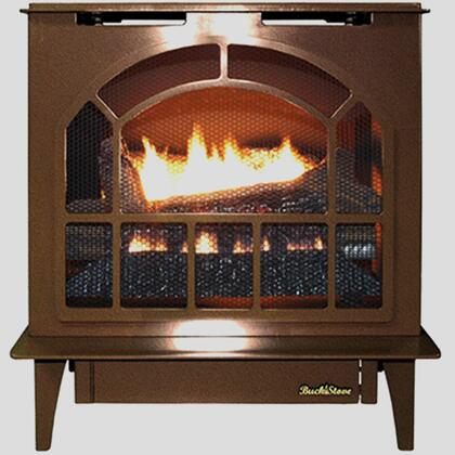 Hepplewhite Series NV S-HPPLEWHT VC-NG Natural Gas Steel Stove in Vintage