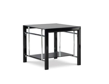 Powell  629210C End Table Black, Main Image