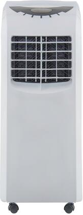 NPP-A112C 12″ Portable Air Conditioner with 12000 BTU Cooling Capacity  Dehumidifier Mode  Digital Thermostat and Washable Filter in