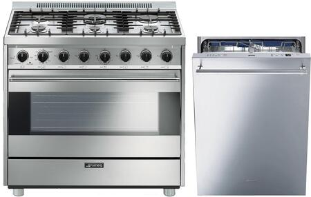 Smeg 1054454 Kitchen Appliance Package & Bundle Stainless Steel, main image