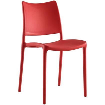 Modway Hipster EEI1703RED Dining Room Chair Red, Image 1