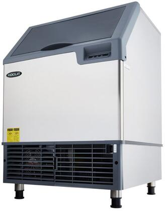 KCU-180-AH 26″ Undercounter Ice Maker with 177 lbs. Daily Ice Production  77 lbs. Ice Storage and Urethane Insulation in Stainless
