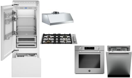 Bertazzoni 975803 Kitchen Appliance Package & Bundle Panel Ready, main image