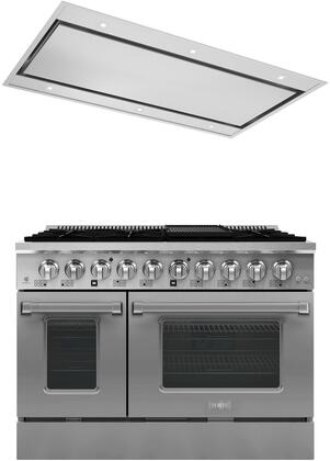 Forte  1458101 Kitchen Appliance Package Stainless Steel, main image
