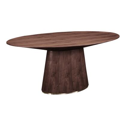 Moes Home Collection Otago KC100703 Dining Room Table Brown, KC 1007 03