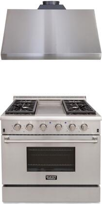 Kucht Professional 721896 Kitchen Appliance Package Stainless Steel, Main Image