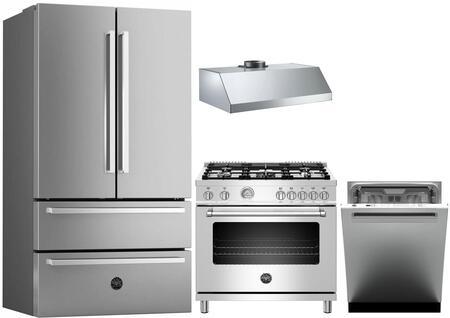 Bertazzoni 1054767 Kitchen Appliance Package & Bundle Stainless Steel, 1