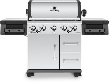 Broil King Imperial 958887 Natural Gas Grill Stainless Steel, Main Image