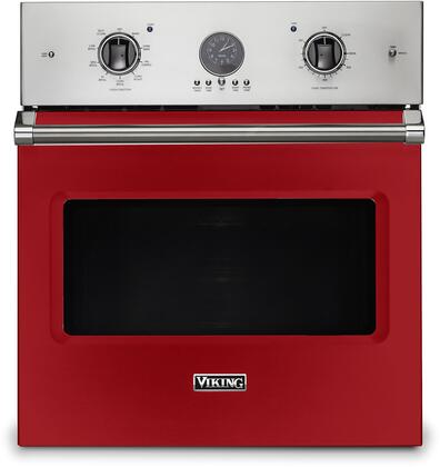 Viking 5 Series VSOE527SM Single Wall Oven Red, VSOE527SM Electric Single Wall Oven