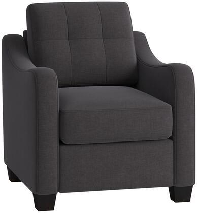 Acme Furniture Cleavon II 53792 Living Room Chair Gray, 1