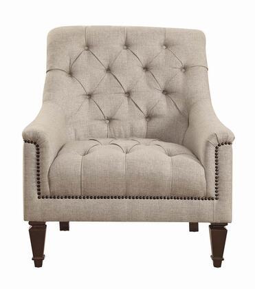 Coaster Avonlea 505643 Living Room Chair Beige, Main Image
