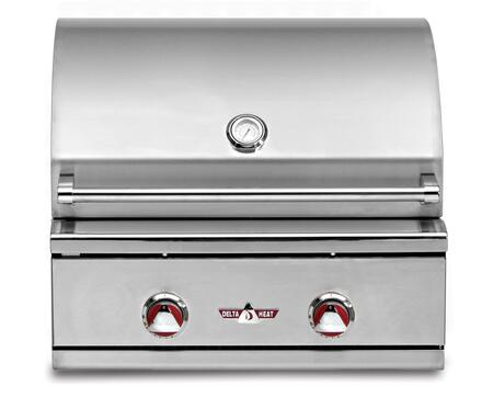 Delta Heat  DHBQ26GBN Natural Gas Grill Stainless Steel, 1