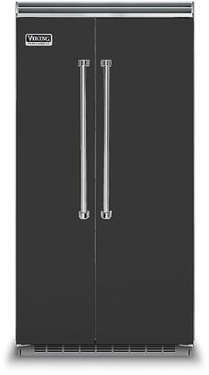 Viking 5 Series VCSB5423CS Side-By-Side Refrigerator Black, VCSB5423CS Side-by-Side Refrigerator