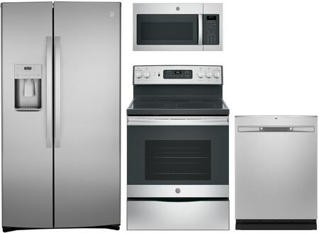 GE  1135240 Kitchen Appliance Package Stainless Steel, main image