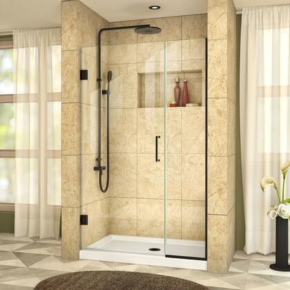 DreamLine  SHDR24410721009 Shower Door , UnidoorPlus Shower Door 39 30D 14P 09