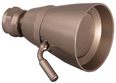 Barclay  5592SN Bathroom Accessory , Traditional Shower Head with Brushed Nickel Finish 2