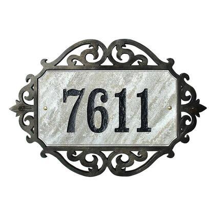 Qualarc Scroll SCRL4725SWI Address Plaques, SCRL 4725 SWI