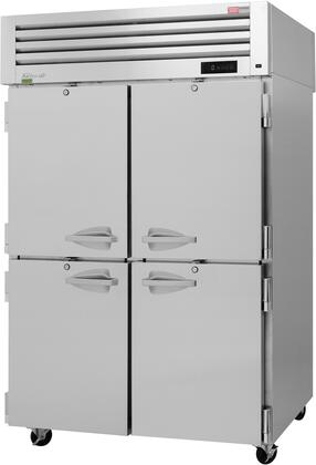 PRO-50-4F-N 52″ Pro Series Solid Half Door Reach-In Freezer with 48.06 cu. ft. Capacity  Self-Cleaning Condenser  Digital Temperature Control &