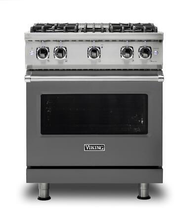 Viking 5 Series VGR5304BDGLP Freestanding Gas Range Gray, VGR5304BDGLP Gas Range