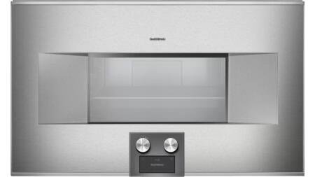 Gaggenau Deals 400 Series BS464610 Single Wall Oven Stainless Steel, BS464610 Combi Steam Oven