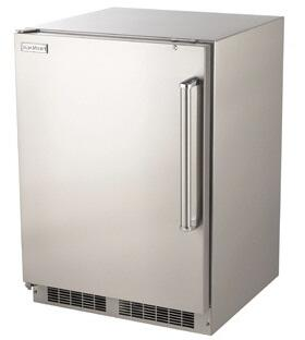 Fire Magic 3589DL Compact Refrigerator Stainless Steel, Left Hinged Refrigerator