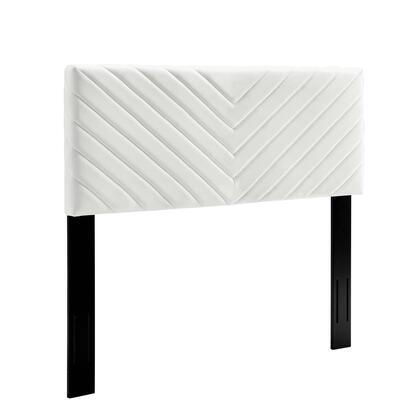 Modway Alyson MOD6145WHI Headboard White, MOD 6145 WHI 1