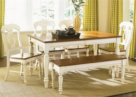 Liberty Furniture Low Country 79CDO6RLS Dining Room Set Multi Colored, Main Image