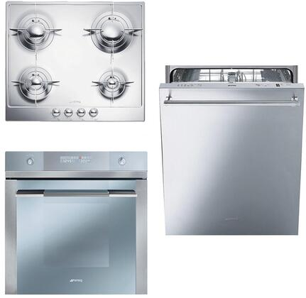 Smeg 890620 Kitchen Appliance Package & Bundle Stainless Steel, 1