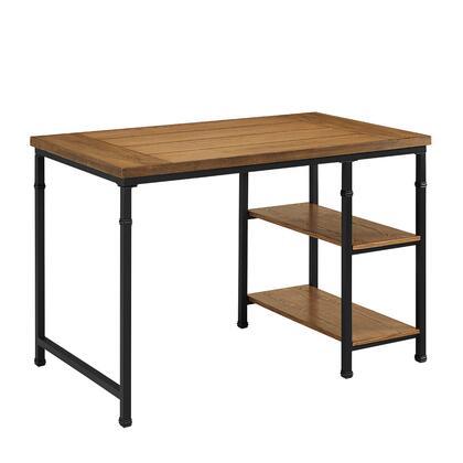 Linon Austin 862252ASH01U Desk, 862252ASH01U%20Austin%20Two%20Shelf%20Desk