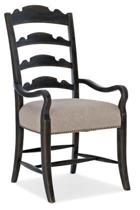 Hooker Furniture La Grange 69607530189 Dining Room Chair Beige, Silo Image
