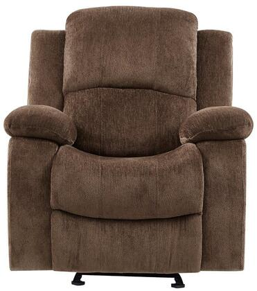Global Furniture USA U3118 U3118CSUBARUCOFFEEGR Recliner Chair Brown, Main Image